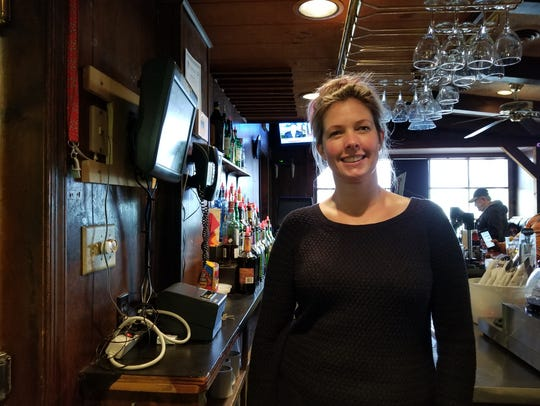 Lynn Taylor has worked as a bartender at Peaky's for