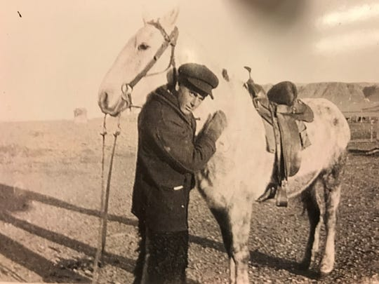 Idah's father, Alvin Sauke, was crippled when struck by lightning at age 21, but he recovered and became a respected Simms cattleman. He died at age 100.
