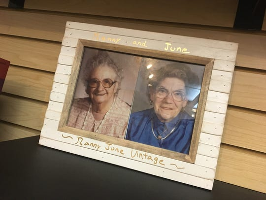 The two woman who inspired the name of Nanny June Vintage