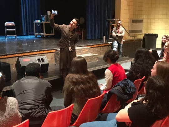 Peekskill High School Drama Club producer Laura Belfiore