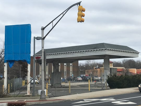 The site where an Exxon station used to exist in Millburn