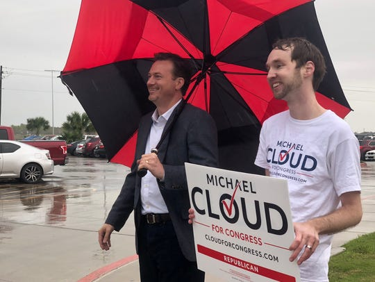 Michael Cloud and his communications director Brian