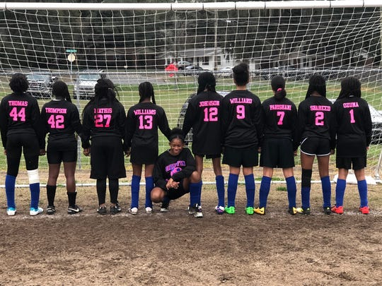 The Griffin Middle School girls soccer team went 10-0 this season and won its first middle school championship in 71 years despite playing with just a roster of 10 all year.