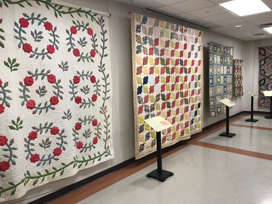 """Trends in American Quilting"" is being held in conjunction"