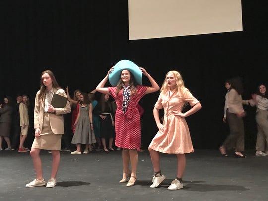 "Irvington High School presents ""9 to 5: The Musical"";"