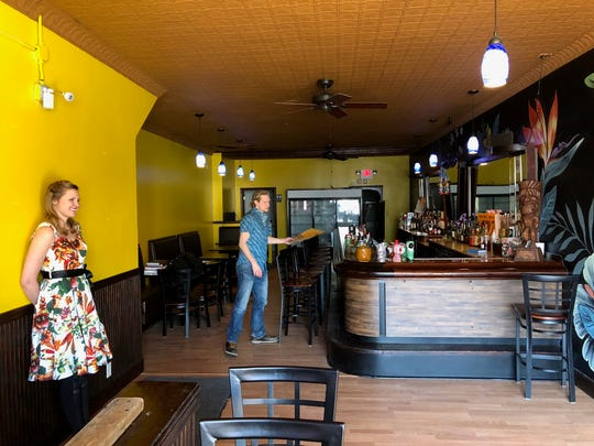 Matt Mergener and Karen Green, both 33, plan to open Lost River tiki bar in May 2018 at 15421 Mack Avenue on Detroit's east side.