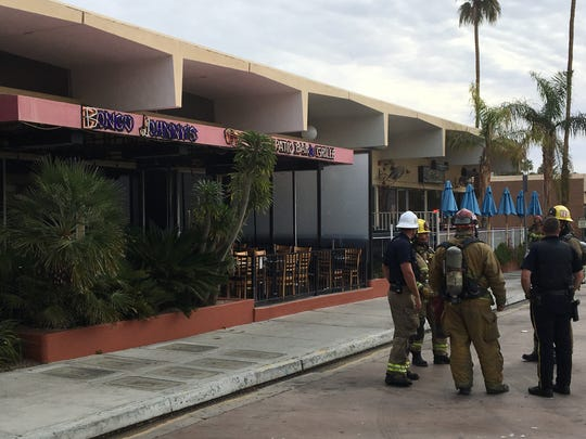 Bongo Johnny's kitchen was destroyed in a fire Wednesday morning, March 7, 2018.