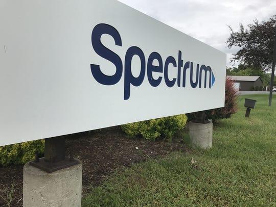 Spectrum sign.