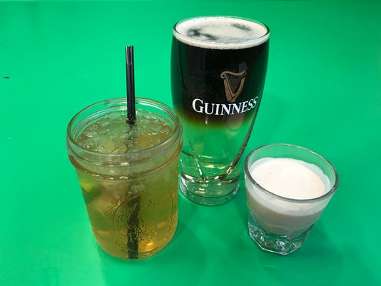 St. Patrick's Day beverages