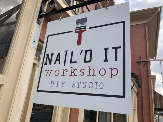 Nail'd It Workshop on Main Street in downtown Waynesboro