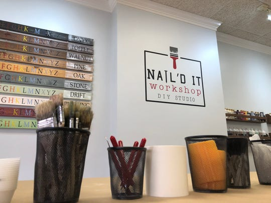 Nail'd It Workshop on Main Street in downtown Waynesboro offers DIY projects.