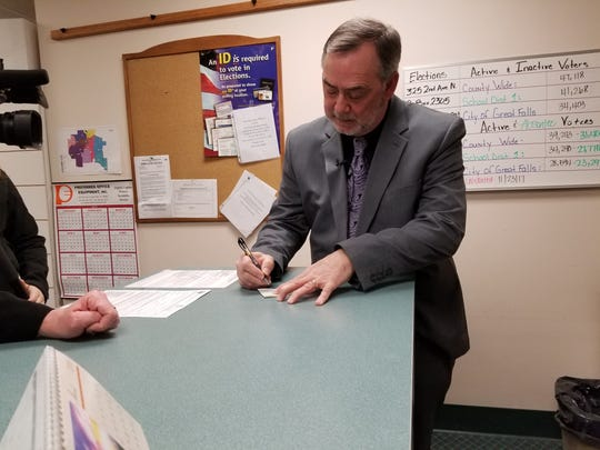 George Kynett files to run for sheriff of Cascade County
