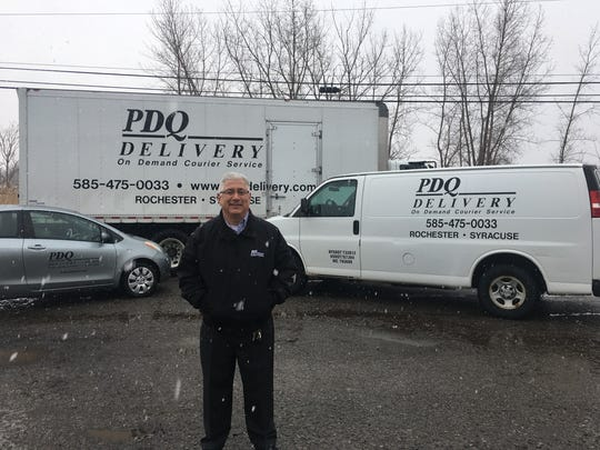 Carl Tandoi is owner, president and CEO of PDQ Delivery in Gates.