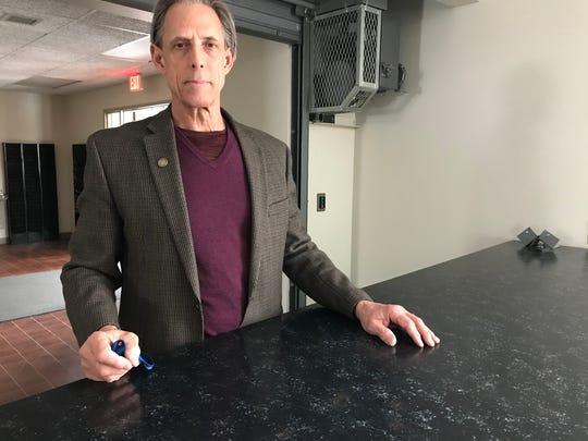 Minnehaha County auditor Bob Litz poses for a photo