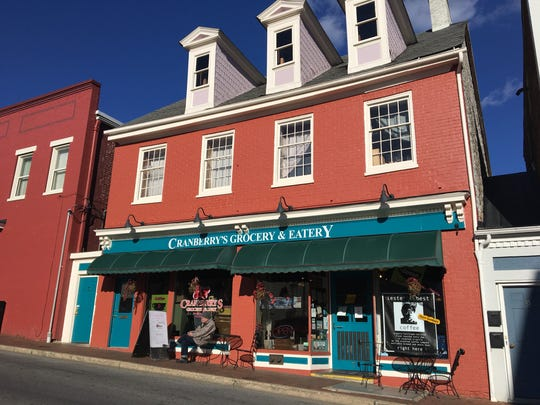 Cranberry's Grocery and Eatery in Staunton.