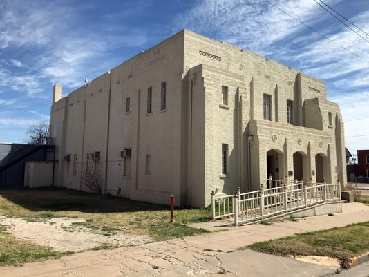 San Angelo's Masonic Lodge and new home for BackBeat Music Company