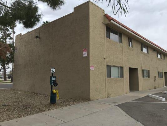 Mesa apartment building