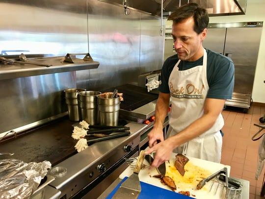 Mike Stone owns Rock on American BBQ in Fort Myers.