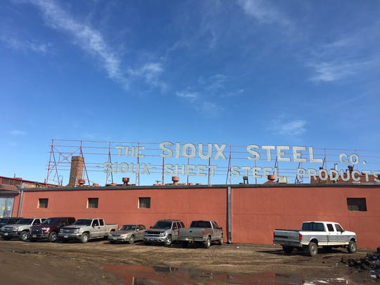 Sioux Steel in Sioux Falls, located along the Big Sioux