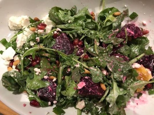 Roasted beet salad ($9) at Kareem's Lebanese Kitchen