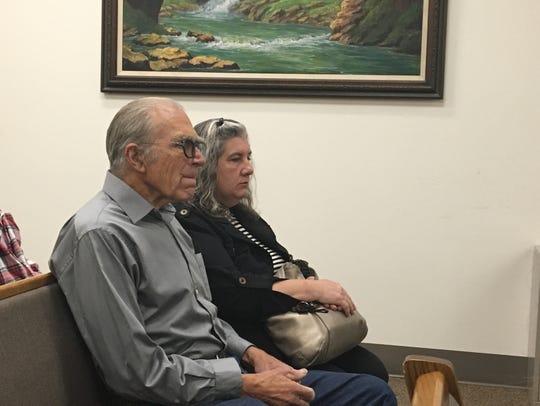 Daniel Panico and Mona Kirk appear in San Bernardino