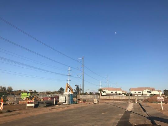 Gilbert Heritage District Parking Garage II broke ground