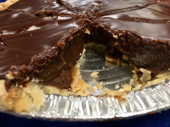 The fudge pie from Julia's HomeStyle Bakery in Murfreesboro