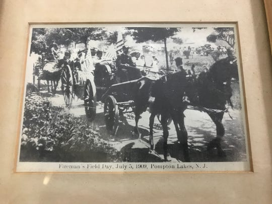 A historic Pompton Lakes photograph from the Historic