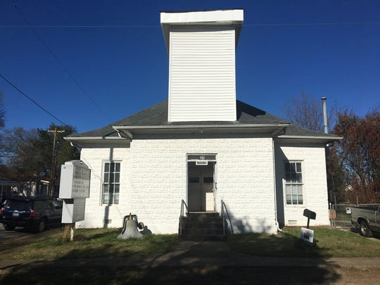 The 1912 former Wesleyan Methodist Church on Burdette Street in the Village of West Greenville. It's now Christian Outreach Ministries Baptist Church.