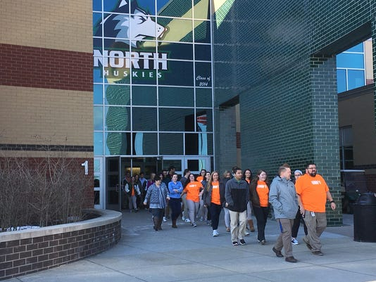 North High School Walkout