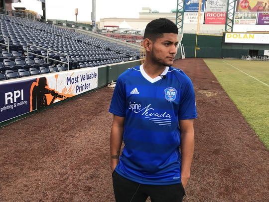 Kevin Partida signed with Reno 1868 FC this week.