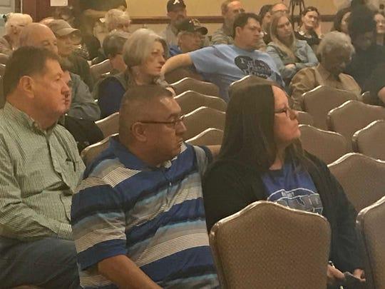 David Gomez, pastor at Overflow Worship Center in Abilene,