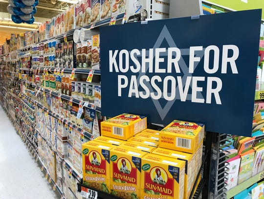 Passover food now common food trends, with more food