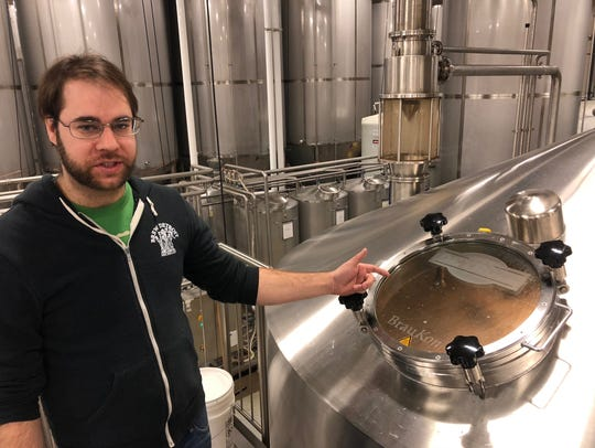 Robert Orler, quality and brewery manager with Brew