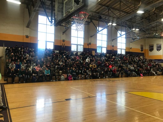 Waynesboro High School 'walkout'