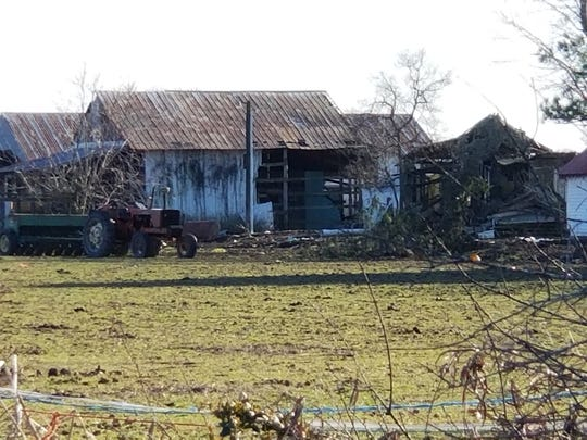 At least 25 dead horses were found on this property on Cherrywalk Road in Quantico on Friday, March 16, according to the Wicomico County Sheriff's Office.