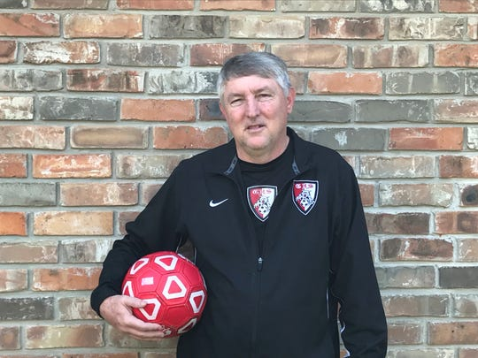 Glenmord coach Roger Richmond is the All-Cenla co-boys soccer Coach of the Year.