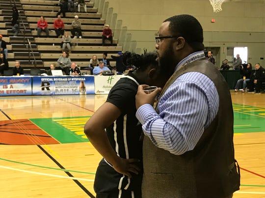 Bishop Kearney girls basketball coach Kevan Sheppard