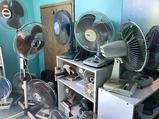 Reece Umbreit's fan collection fills his parent's North Fond du Lac home. The 13-year-old middle school student is known as one of the world's leading experts on fans by an eclectic group of collectors.