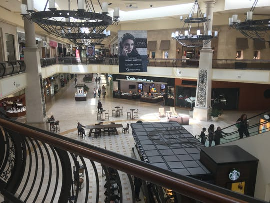 Shopping resumed as normal Sunday inside The Oaks mall in Thousand Oaks. The mall had been locked down for a time Saturday when an employee at the Paper Source stationery store was fatally shot by her ex-husband, who turned the gun on himself in an attempted suicide.