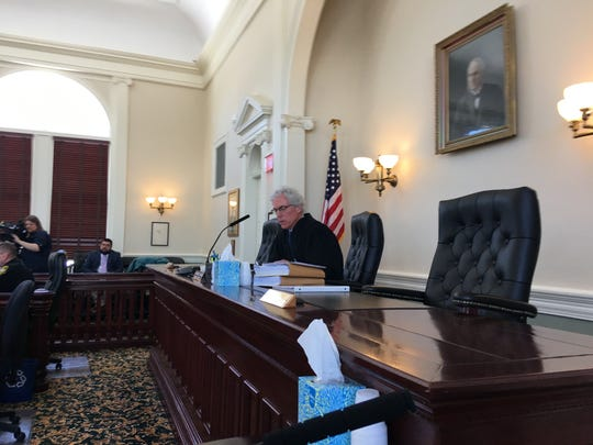 Vermont Superior Court Judge Thomas Carlson presides
