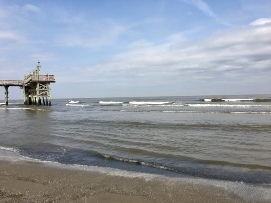 Visitors can fish from the pier or enjoy the Gulf of Mexico from the beach at Grand Isle State Park.