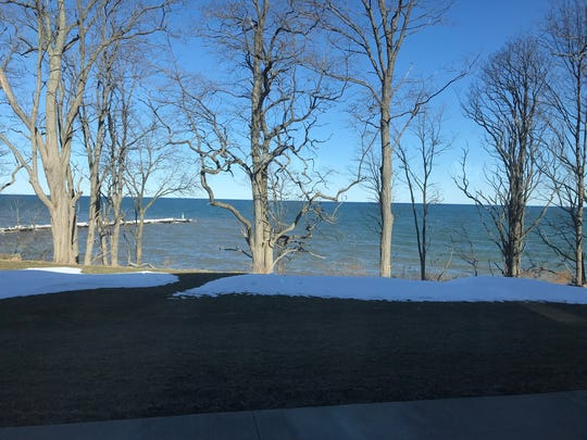 Lake view from the lodge
