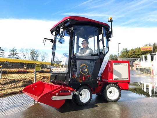 A new ride offered at Diggerland USA is the Ventrac
