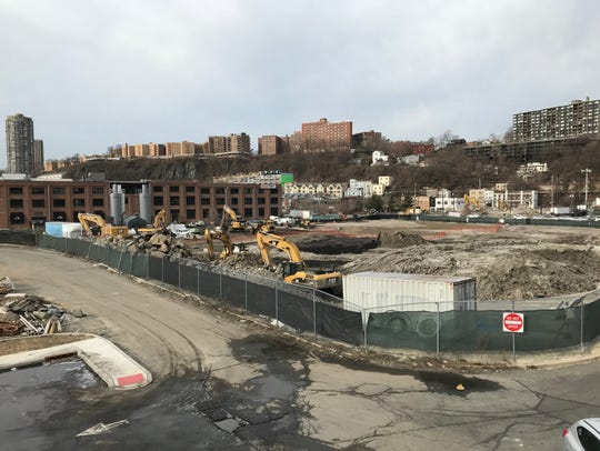 The Quanta Superfund site in Edgewater as it looked