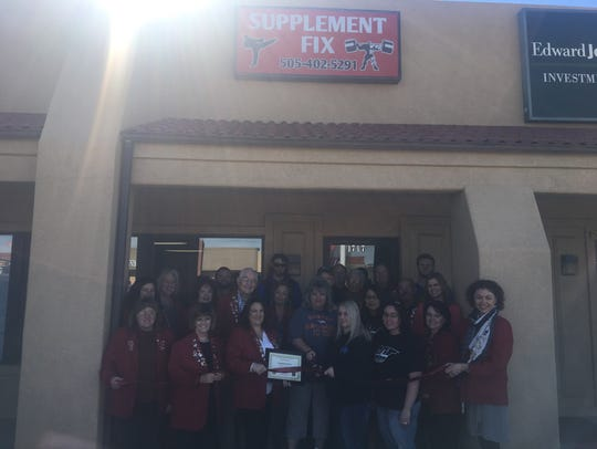 A ribbon cutting happened recently at Supplement Fix,