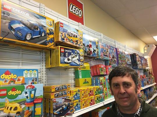 Peter Sloan, owner of Turner Toys & Hobbies in Essex Junction.