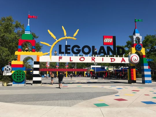 Legoland Florida in Winter Haven opened in 2011.