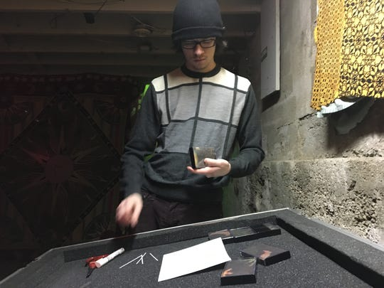 Springfield electronic musician Austin Korte packaged