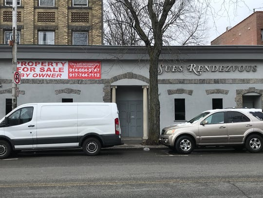 The former Sue's Rendezvous in Mount Vernon on Jan.
